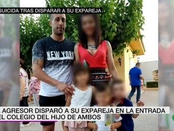 La mujer tiroteada en Elda junto a su expareja e hijo