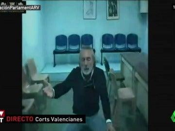 Francisco Correa declara ante Les Corts Valencianes