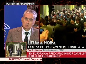 Fernando Jáuregui, eurodiputado del PSOE