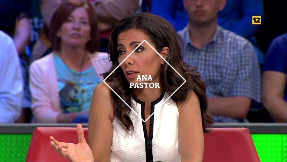 Ana Pastor en laSexta Noche