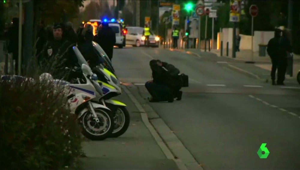 Atropello en Toulouse, Francia