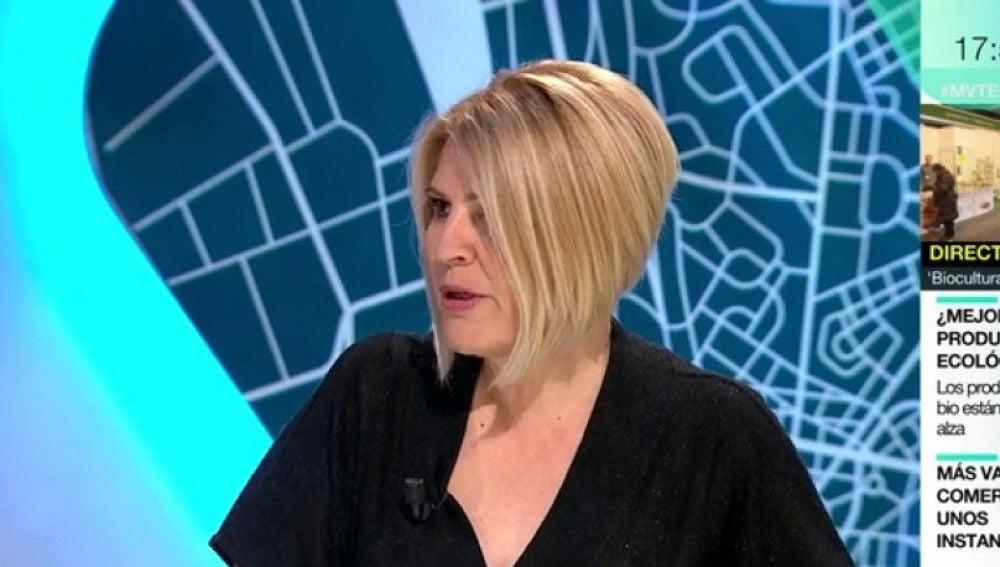 Silvia Barquero, en MVT
