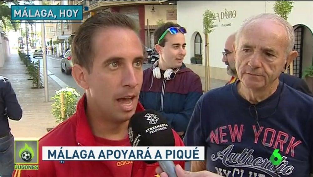 ¿Cómo recibirá la afición española a Gerard Piqué en La Rosaleda?