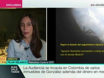 Pilar Velasco en Más Vale Tarde