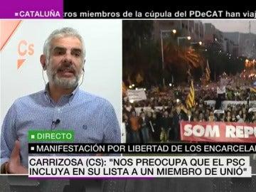 Carlos Carrizosa, en el especial informativo de laSexta Noticias
