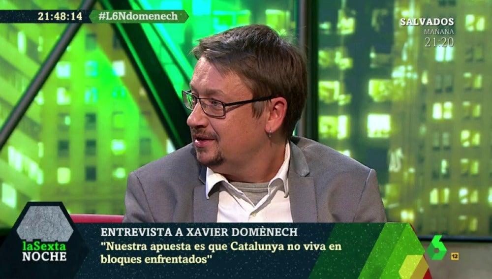 Xavier Domènech en laSexta Noche