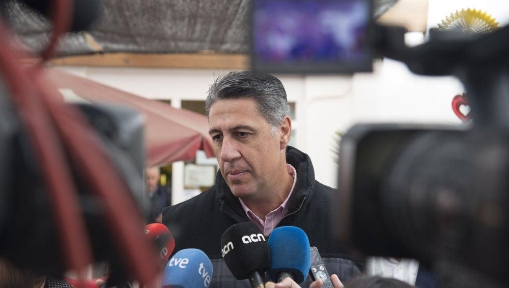 El candidato del PP a la presidencia de la Generalitat de Cataluña, Xavier García Albiol