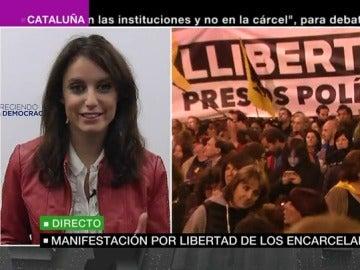 Andrea Levy en el especial informativo de laSexta Noticias