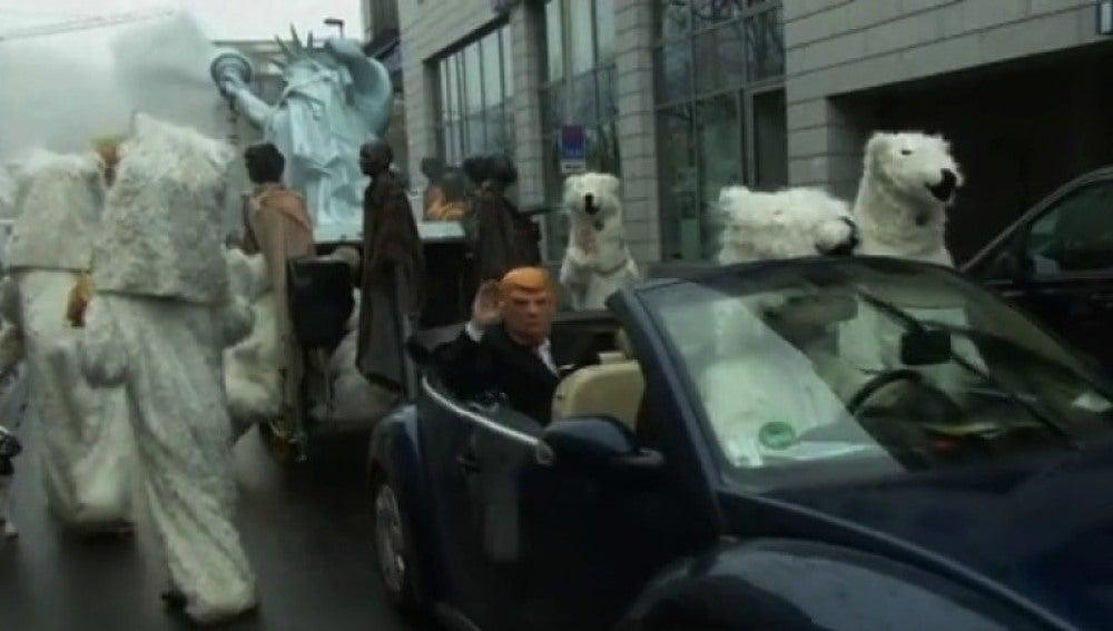 Protestas en la cumbre del clima de Bonn