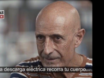 Hombre al que le aplicaron descargas eléctricas