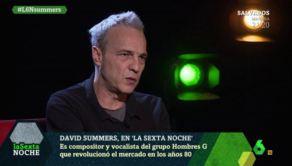 David Summers, en laSexta Noche