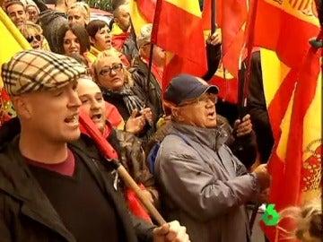 Manifestación en Manresa