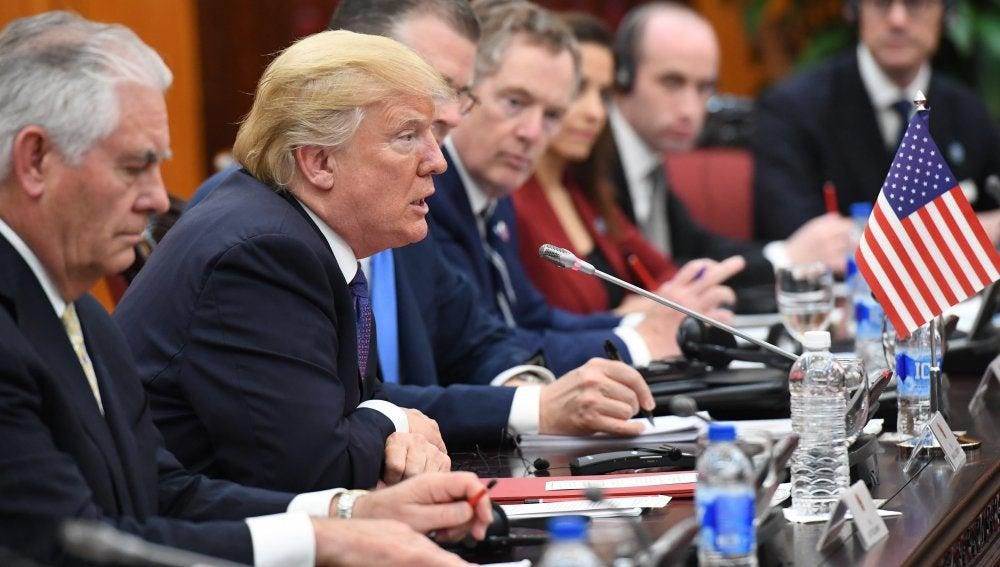 Donald Trump en la cumbre del APEC