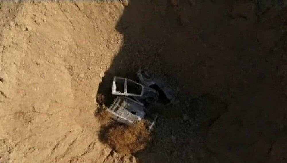 Fosa común descubierta en Irak que podría contener miles de cadáveres