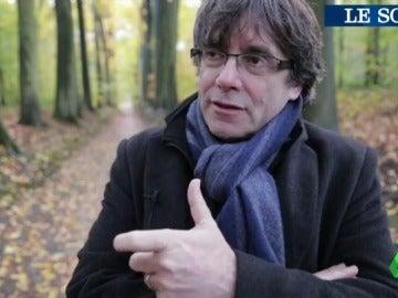 """Puigdemont asegura que """"es posible"""" una solución diferente a la independencia en el conflicto de Cataluña"""