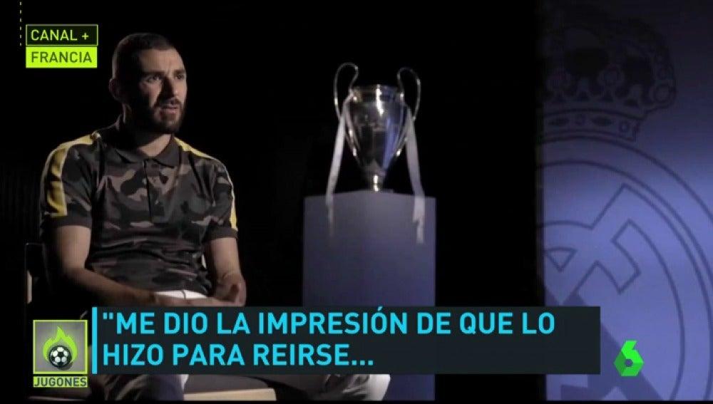 """Benzema: """"Se me fue la olla cuando Mourinho me llamó gato..."""""""