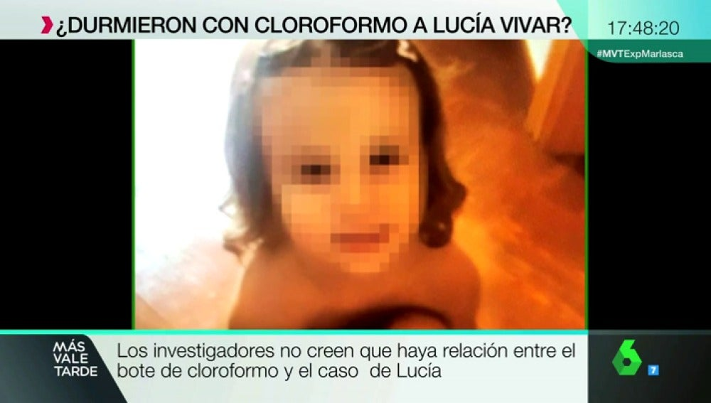 Hallan un bote de cloroformo cerca de donde desapareció Lucía Vivar, la niña de Pizarra hallada muerta en las vías del tren