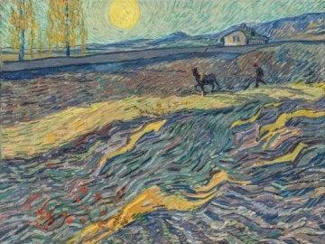 'Laboureur dans un champ' de Van Gogh