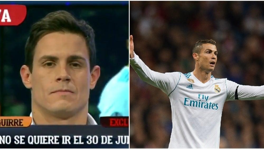 Edu Aguirre adelanta la exclusiva sobre Cristiano Ronaldo