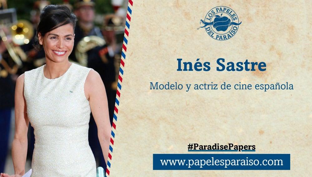 Inés Sastre, modelo y actriz española