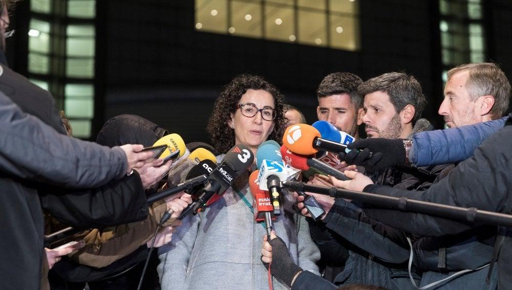 La secretaria general de ERC, Marta Rovira