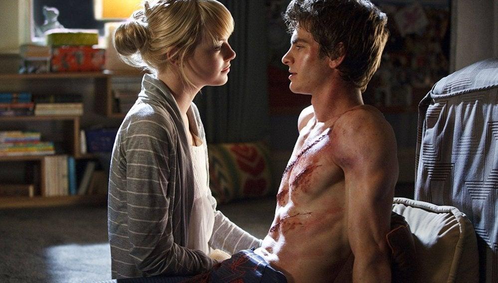 Emma Stone y Andrew Garfield