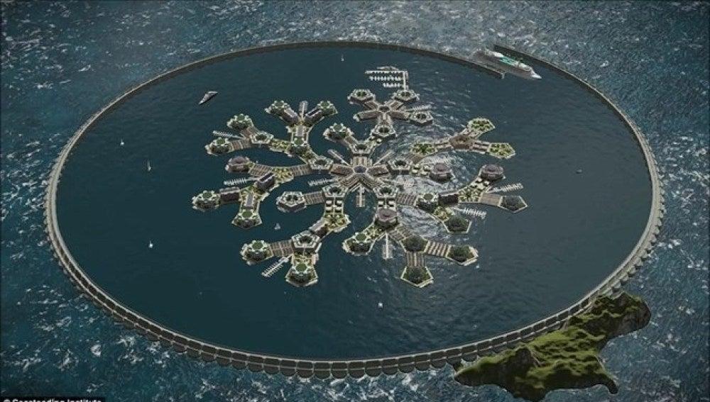 Proyecto de país flotante en la Polinesia Francesa