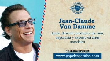 El actor Jean-Claude Van Damme