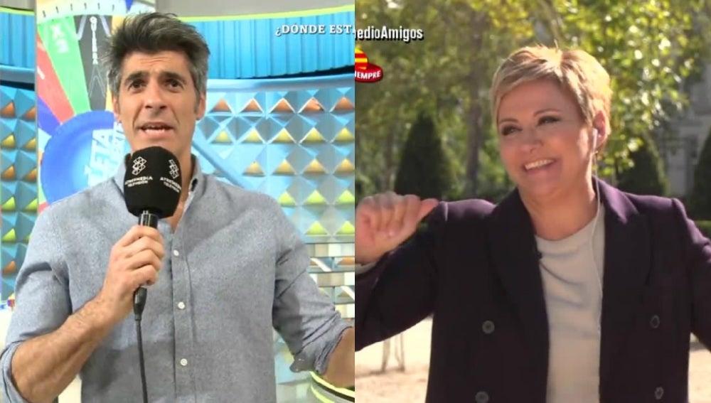 Jorge Fernández y Gloria Serra