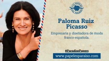 Paloma Picasso, empresaria e hija de Pablo Picasso