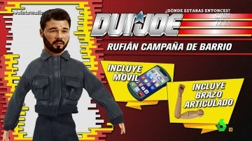 El muñeco de Gabriel Rufián