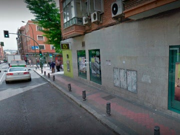 Bankia en la calle Dolores Barranco, Madrid