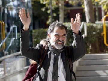 El líder de Òmnium Cultural Jordi Cuixart