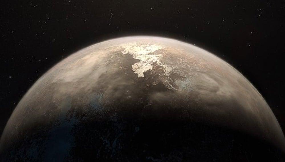 El mundo templado mas cercano alrededor de una estrella tranquila