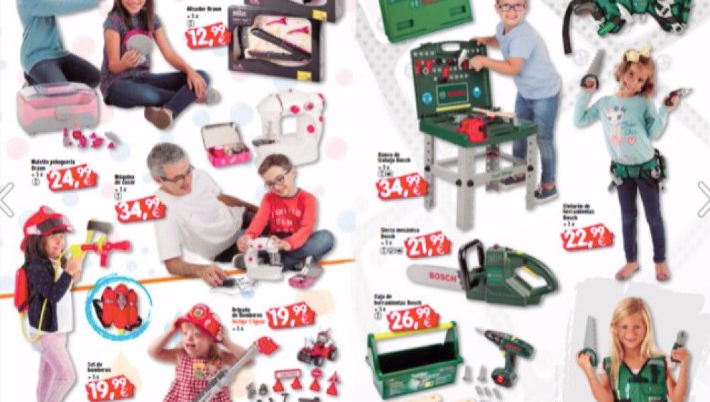 Un ejemplo de cómo deberían ser es el catálogo inclusivo de Toyplanet