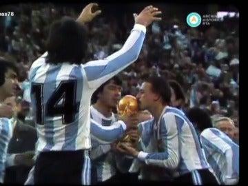 Argentina gana el Mundial de fútbol del 78