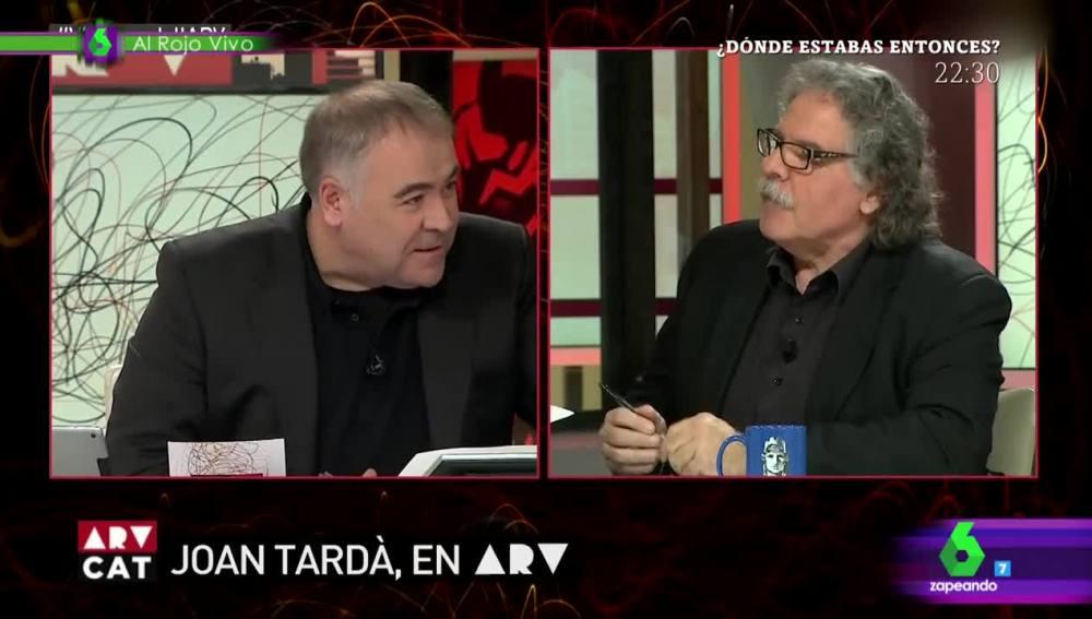 El surrealista parecido que guardan Joan Tardà y Antonio García Ferreras