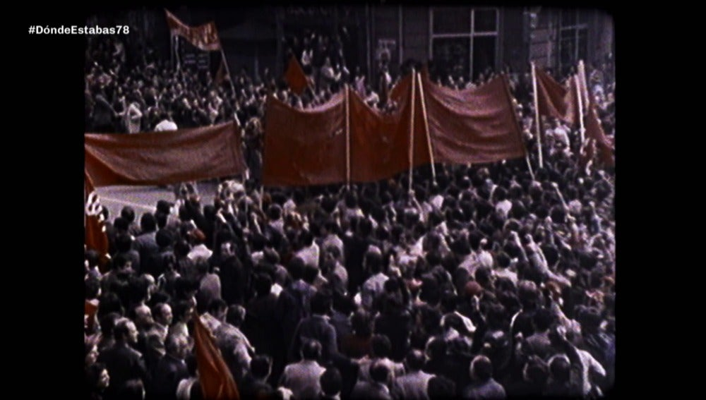 Manifestación en 1978