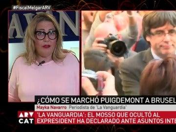 Maika Navarro, en Al Rojo Vivo