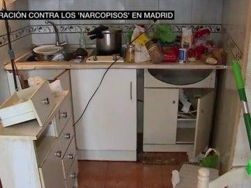 Operación policial en Madrid contra los narcopisos: desmantelados nueve domicilios particulares
