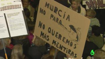 Manifestación Murcia
