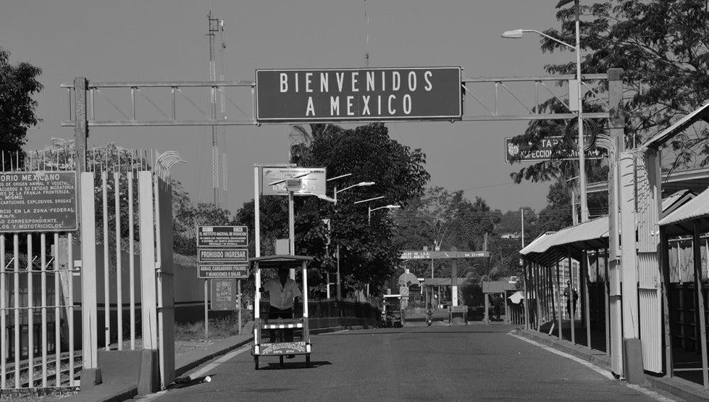 Imagen de la frontera de México