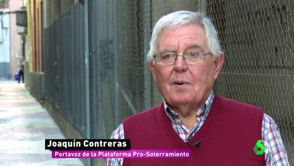 """Los 30 años de lucha de Joaquín contra la desigualdad que generan las vías en Murcia: """"No hay más opción que soterrar"""""""