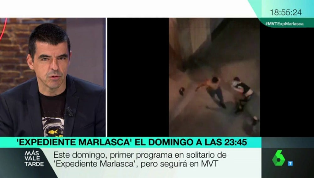 Manuel Marlasca, en MVT