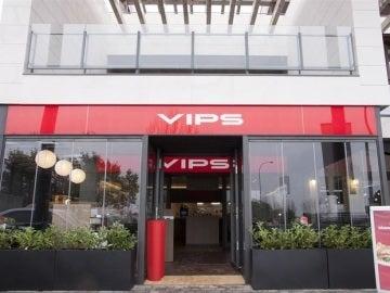 Imagen de la entrada de un local VIPs