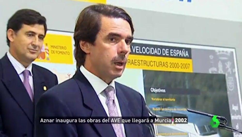 """Aznar, Zapatero y Rajoy y sus promesas políticas sobre el AVE en Murcia que nunca llegó: """"No creo en ningún político"""""""