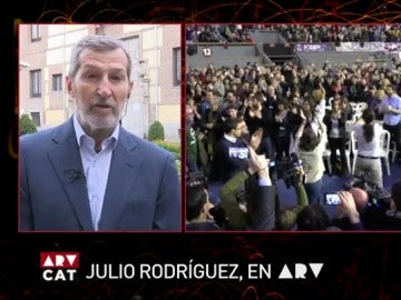 Julio Rodríguez, en Al Rojo Vivo