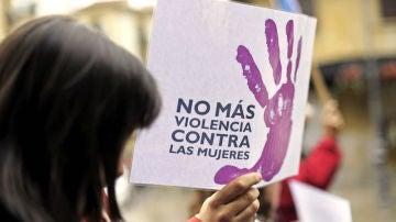Imagen contra la violencia de género