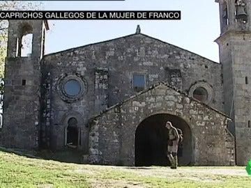 Los caprichos gallegos de la mujer de Franco
