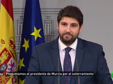 """El presidente de Murcia responde a las acusaciones de electoralismo por el AVE: """"Mi prioridad es que llegue porque es dinero"""""""